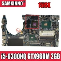 superx 5b nm a711 motherboard suitable for lenovo saviour 15isk rescuer 15isk motherboard with i5 6300hq gtx960m 2gb 100 test