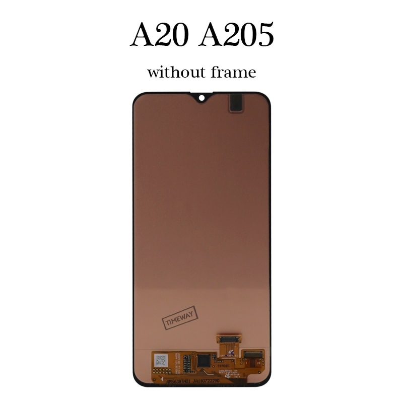 100% New OEM Screen For Samsung A20 LCD Replace Display Touch Screen With Frame Best Quality For Samsung A20 A205 LCD Screen enlarge