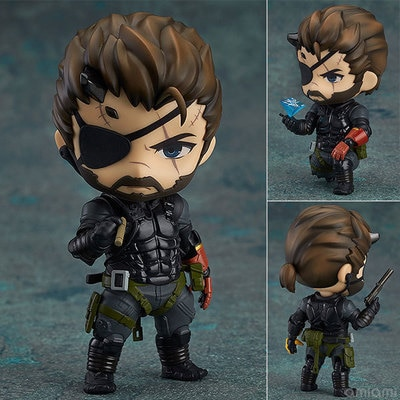 Anime Kawaii lindo Metal Gear veneno serpiente 10cm figura de acción Juguetes