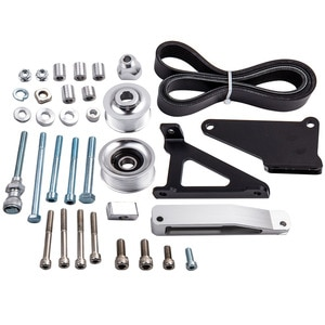 Eliminator Pulley Kit for Honda K24 Engines K Swap K Series A/C P/S New