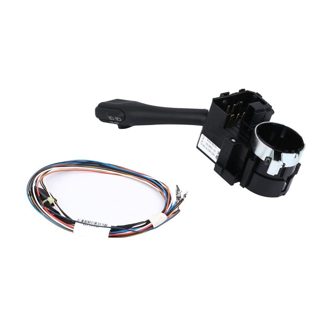 Car Headlamp Switch Replacement Euro Auto Headlamp Head Fog Light Console Switch for VW Golf 4 MK4 Polo Bora Passat B5