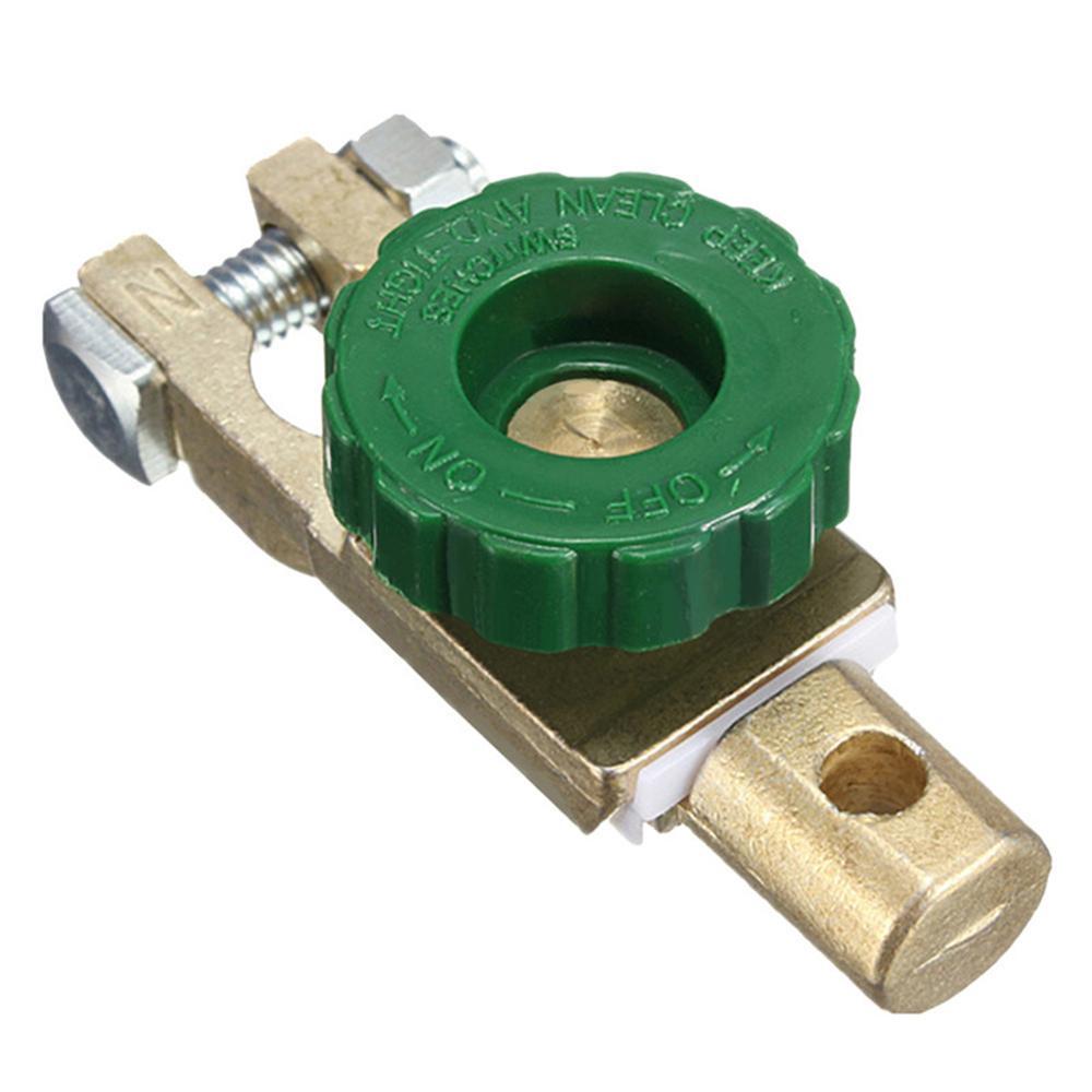 Interruptor de enlace de la batería de la motocicleta del coche interruptor de desconexión rápida Protector de la batería a prueba de fugas de energía de la batería del coche- interruptor