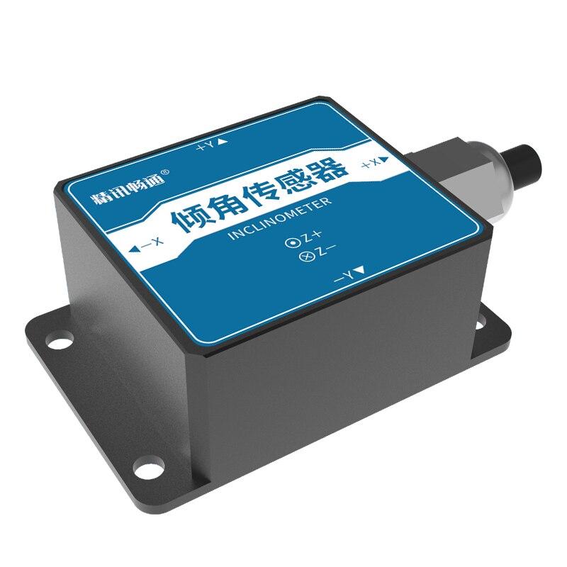 زاوية الاستشعار ثلاثة محاور تسارع زاوية السرعة الزاوي متر RS485 مقياس مستوى الإلكترونية أداة مقياس الضغط