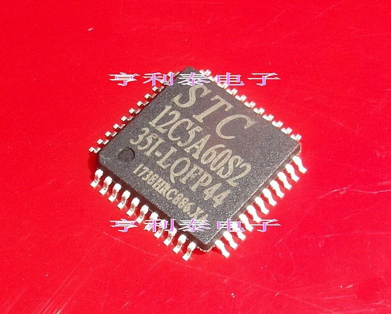10 Uds STC12C5A60S2-35I-LQFP44 LQFP44 Original nuevo 1 orden