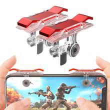 2pcs/lot E9 Mobile Phone Game Fire Button Controller and Joystick Survival Game Grip R1L1 Triggers f