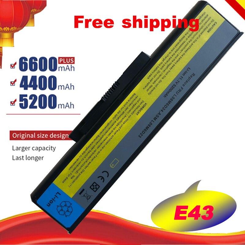 Batería especial para ordenador portátil Lenovo L08M6D23 E43G E43 E43A E43L K43 L08M6D24, Envío Gratis