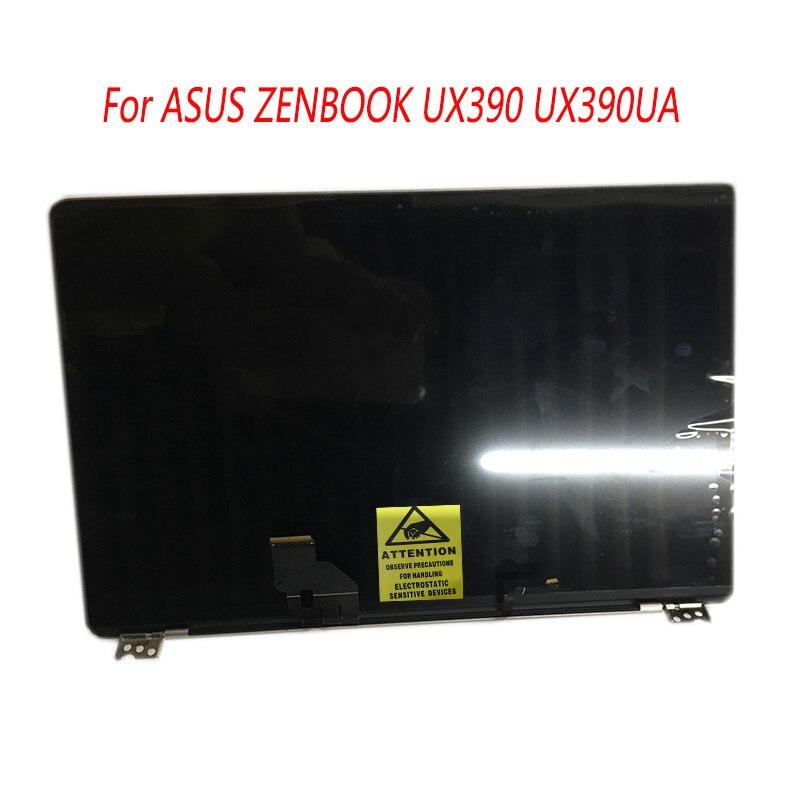 Panel de pantalla LCD completo para ordenador portátil de 12,5 pulgadas con marco medio montaje completo superior para ASUS ZENBOOK 3 UX390 UX390UA UX390UAK
