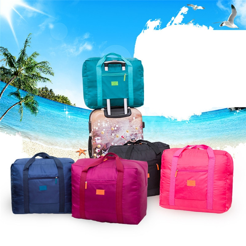 Large Capacity Fashion Travel Bag For Man Women Weekend Bag Big Capacity Bag Travel Carry On Luggage Bags Overnight Waterproof