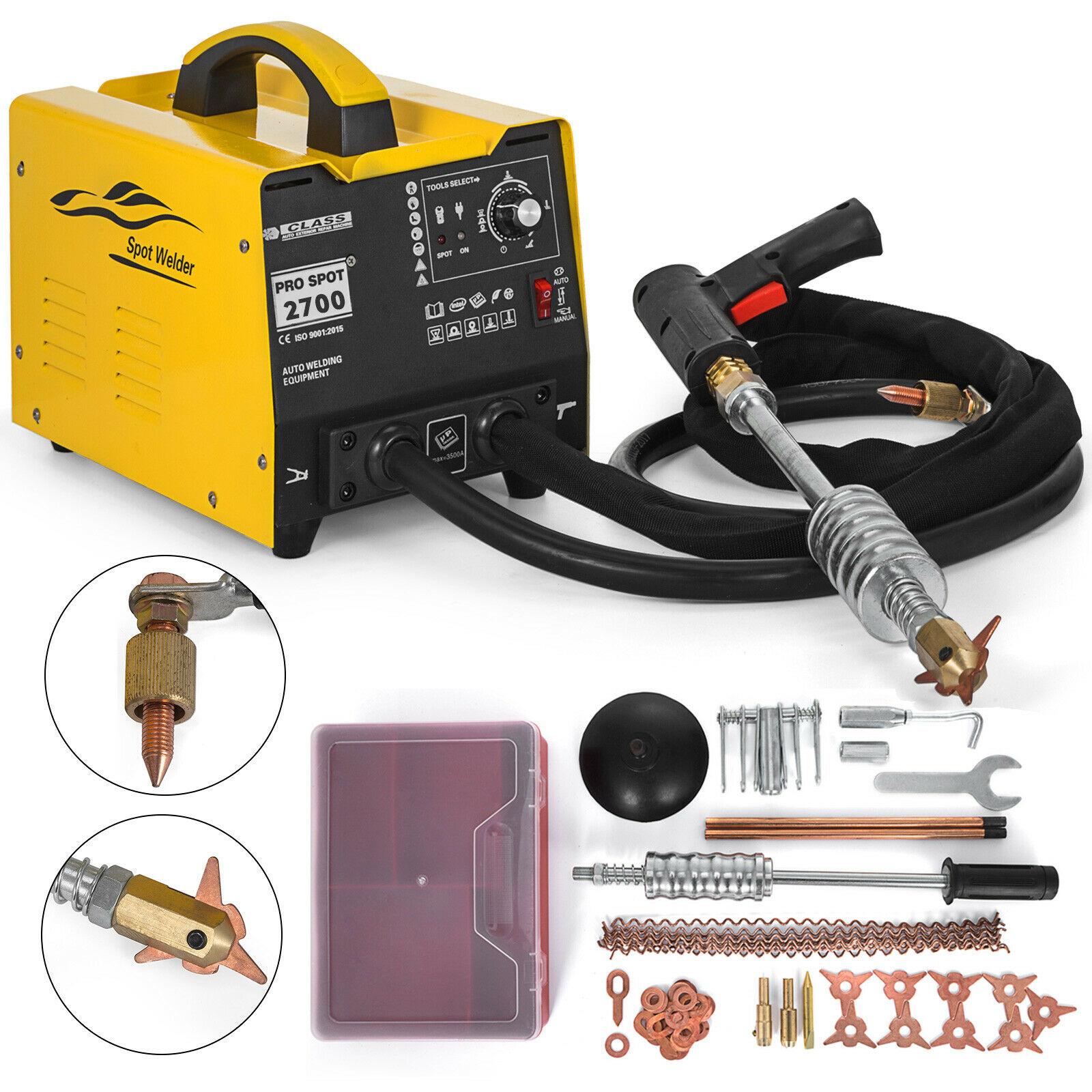 110V/220V GYSSpot 3500A Bodywork Dent Remover, 220 V Car Dent Puller, 2-Gun Dent Removal Tool, Professional Body Dent Removal