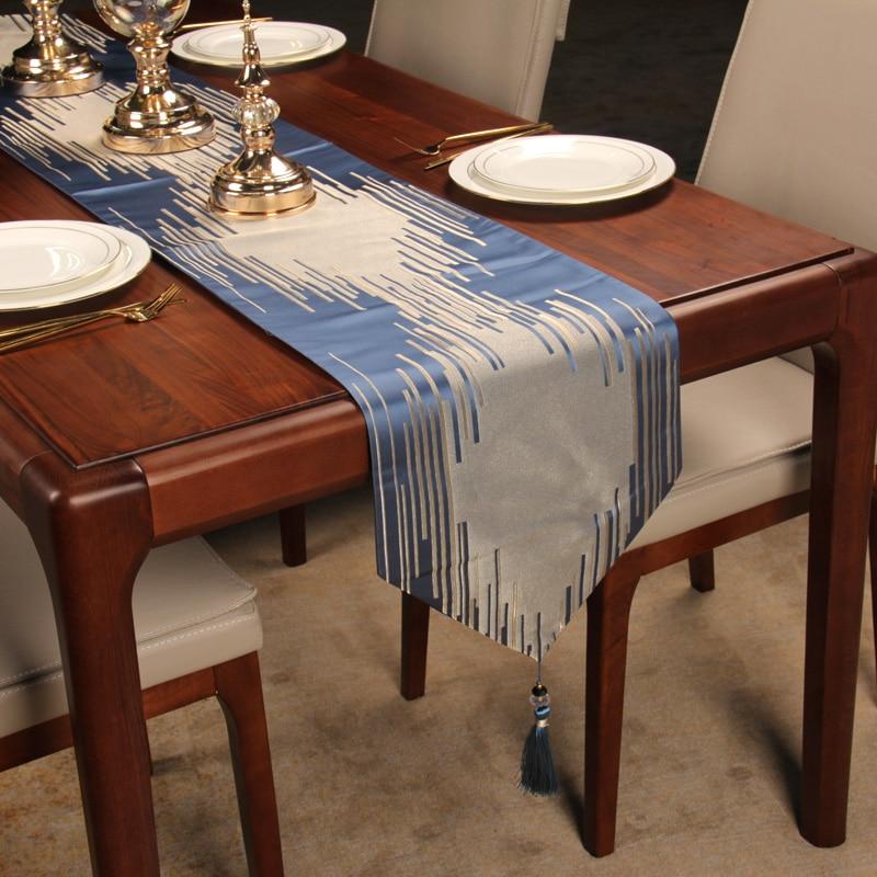 مفرش طاولة صيني أوروبي شمالي ، مفرش طاولة فاخر حديث على الطراز الأمريكي والأوروبي