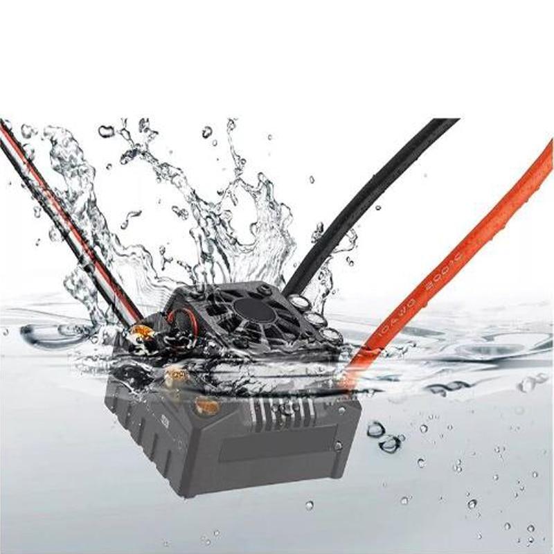 Hobbywing EzRun Max8 v3 150A ESC T Plug/TRX Plug controlador de velocidad impermeable sin escobillas para coche 1/8 RC