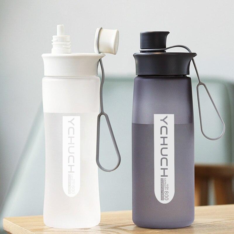 Gran Sipper botellas de 1000ml hombre TAPA DE jarra de plástico para Agua al aire libre de verano de entrenamiento de Garrafa de Agua Hydro frasco AB50WB