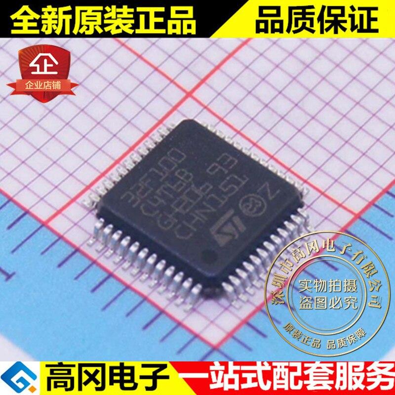 5 шт. STM32F100C4T6B LQFP48 16kB 4kB RAM ARM