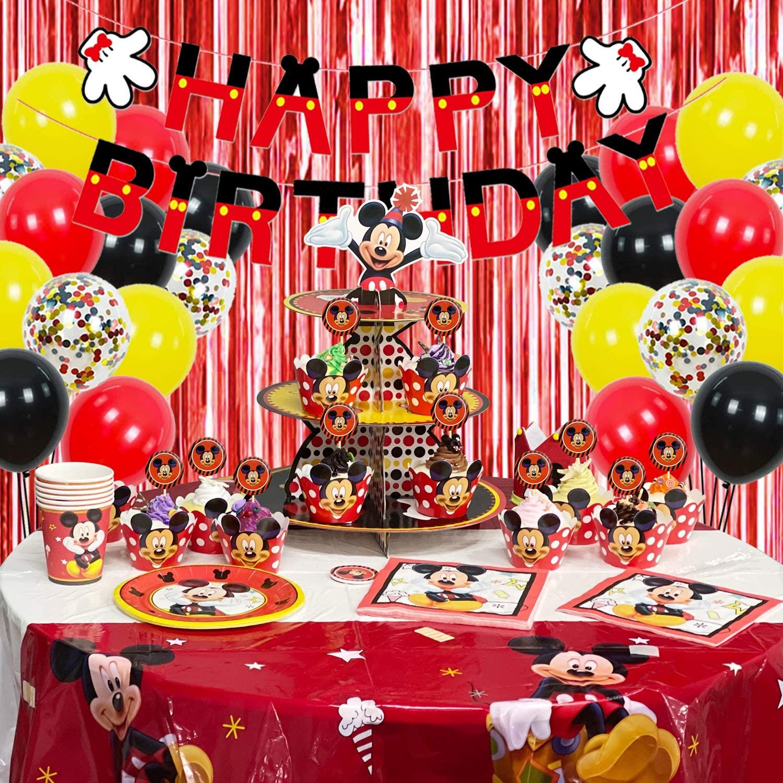 Надувные скатерти с Микки Маусом для украшения дня рождения
