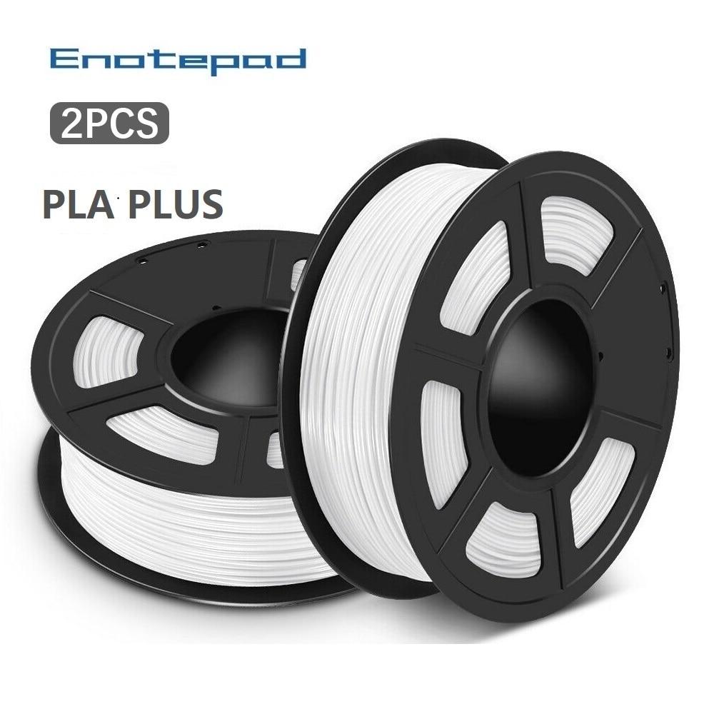 Enotepad PLA PLUS Print frame filament 3D Filament PLA Printer Filament 1.75MM 1KG Spool PLA+ Filament for 3D Pen 3D Printer