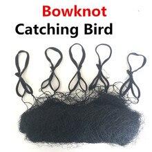 새 그물 높은 품질 Bowknot 나일론 6X2.4M 20mm 메쉬 크기 조류 안개 그물 버드 캡처 그물 버드 그물 잡기 박쥐 그물