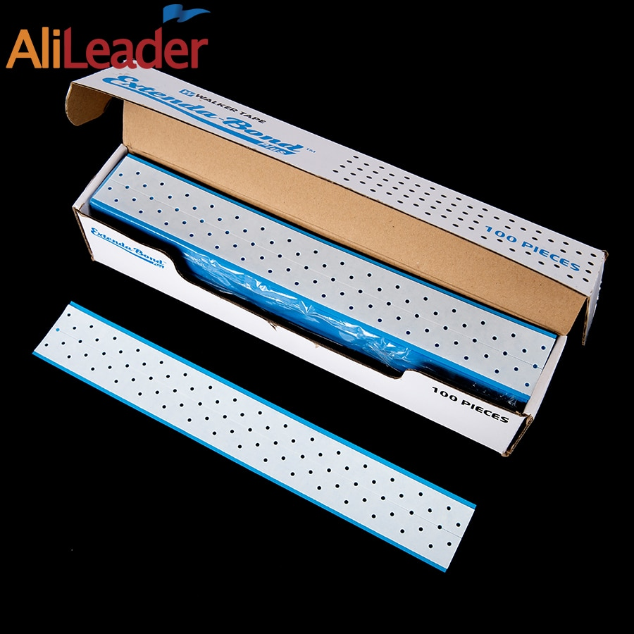 Alileader Double Side Adhesive Tape Extenda-Bond Plus Breath Holes Waterproof Reusable Lace Front Glue For Wigs And Toupees Hair