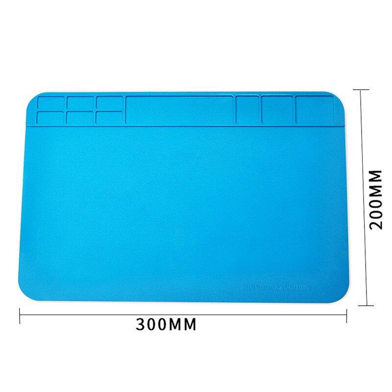 Soojusisolatsiooniga töötav matt 30 * 20cm, kuumuskindel jootmisjaam, remondisolatsioonipadi, hooldusplatvorm