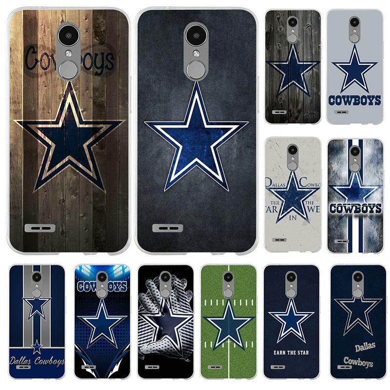 Dallas Cowboys da forma TPU Macio Casos de Telefone para LG Nexus 5 5X V10 V20 V30 V40 K12 K40 K50 Q6 Q7 Q8 Q60 X Poder