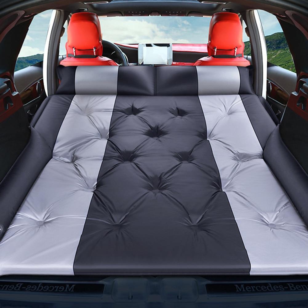 Car Air Inflatable Travel Mattress Bed Universal Car Accessories Inflatable Bed Travel Goods For Outdoor Camping Mat Cushion