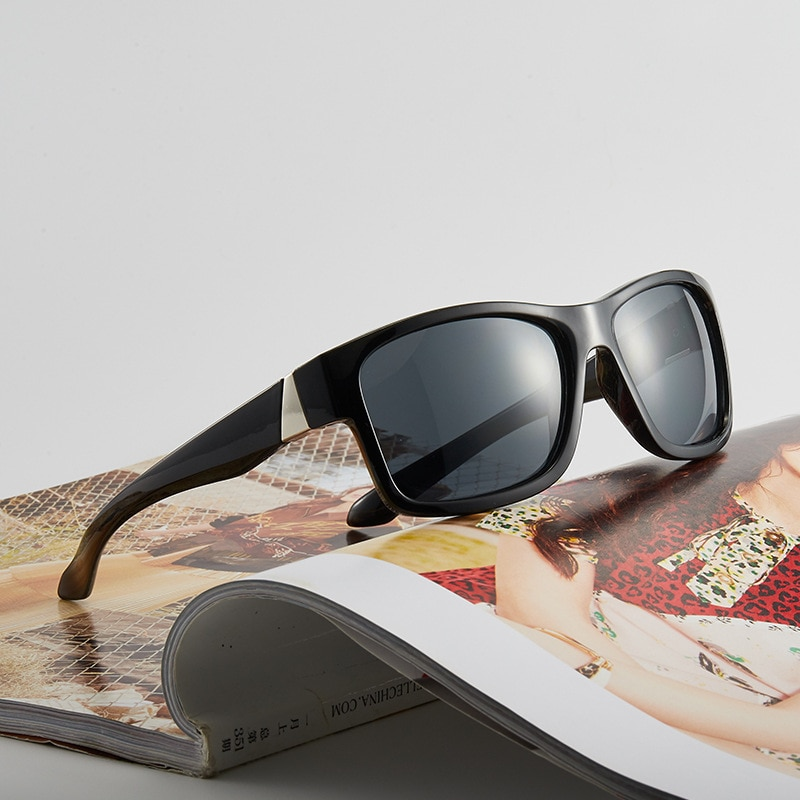RMM Driving Sun Glasses Frame Sports Sunglasses Men Driver Retro UV400 men women Goggles black sungl