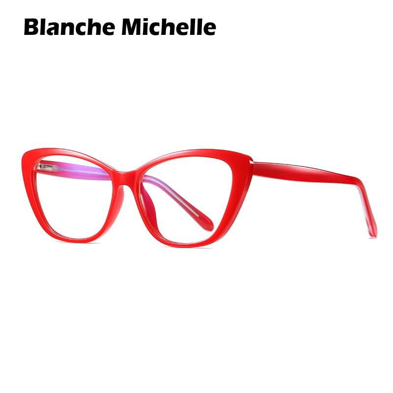 TR90 montura de gafas de Ojos de gato mujeres gafas de protección contra luz azul ordenador gafas UV400 Clear gafas lentes opticos para mujer gafas graduadas marcos glasses frame women armação de oculos feminino