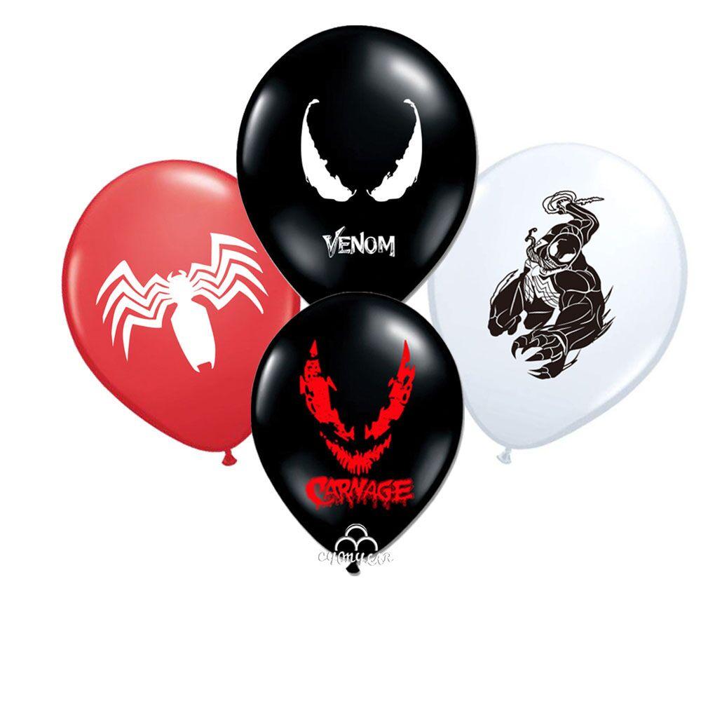 Venom Balloon 12pcs/lot  Hero Ballon Hero Theme Party Supplies Toys for kids  Party Supplies Globos