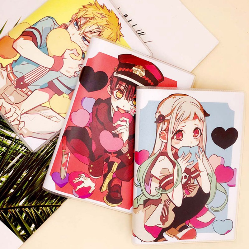 Toilet-Bound Hanako-kun Student Anime Notebook Student Cartoon Diary Book Journal Notepad Office School Note Book Supplies challenges 1 student book