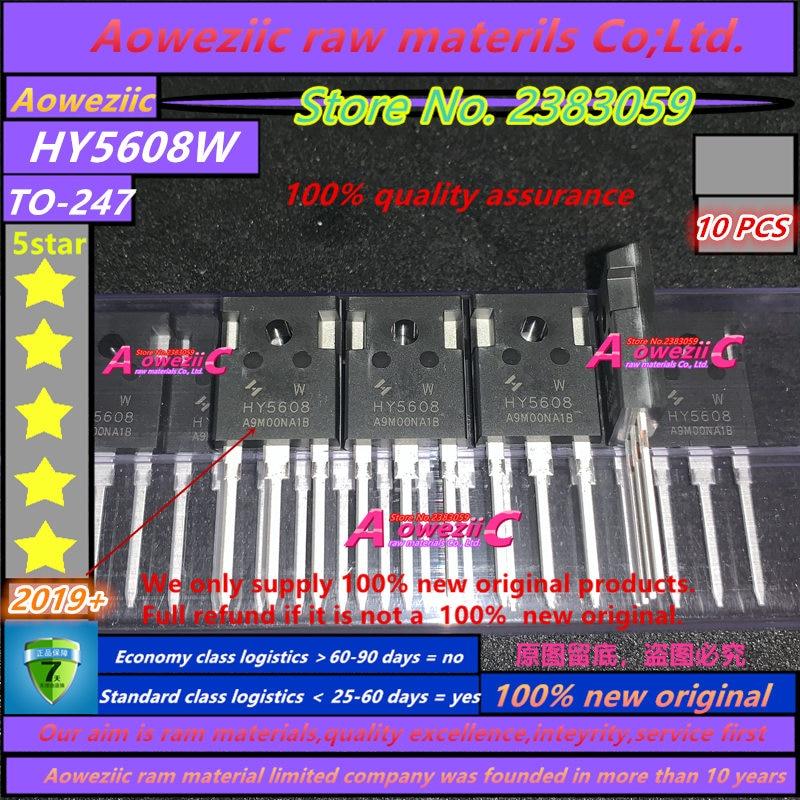 Aoweziic 2019 + 100 ٪ مستورد أصلي, HY5608W HY5608 TO-247 FET 80V 360A