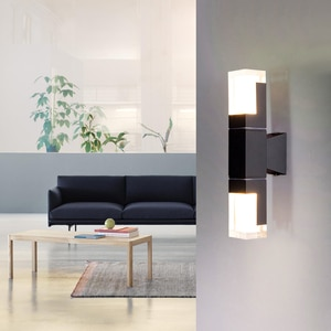 10W Waterproof LED Bedroom Decor Wall Light Double-headed Acrylic Lampshade Wall Sconces Led Lamp Home Corridor Outdoor Lighting