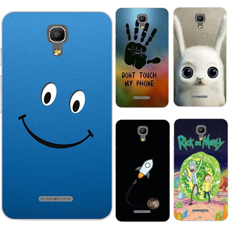 Fundas coloridas originales para teléfonos móviles Alcatel One Touch Pixi 4 5,0 versión 3G OT 5010 5010D 5010 D funda trasera completa Capa