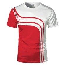 ออนไลน์ขายร้อน3D กีฬาพิมพ์เสื้อยืดสำหรับชายฤดูร้อนแฟชั่น Breathable การระเบิดแขนสั้นเสื้อยืดแนว...