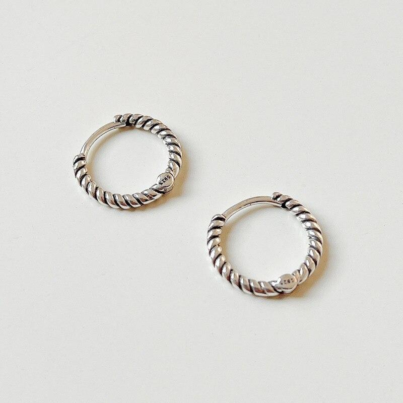 Винтажные-серьги-для-женщин-925-стерлингового-серебра-серьги-в-Корейском-стиле-минимализма-твист-нерегулярные-серьги-персонализированные-ю