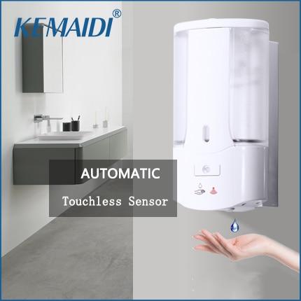 kemaidi-Автоматический-Дозатор-Мыла-Бесконтактный-датчик-дезинфицирующее-средство-для-рук-шампунь-моющее-средство-дозатор-настенный-для-ванн