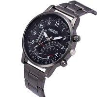 Relogio Masculino Watches Fashion Man Design Stainless Steel Analog Alloy Quartz Wrist Watch Clock Dress relojes para hombre Q
