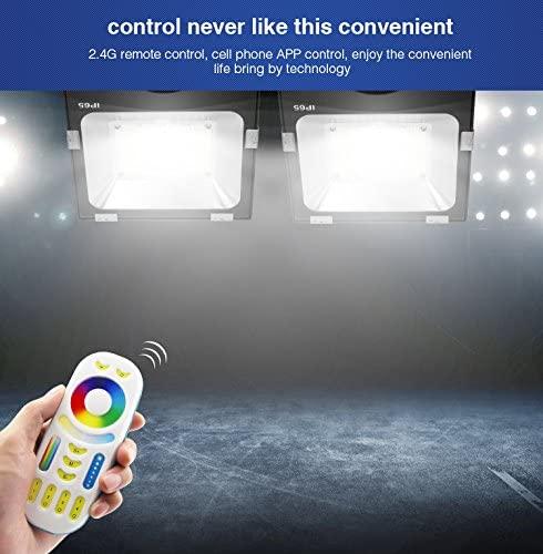 30W Mi luz RGB + CCT 2,4 GHz LED paisaje luz reflectora AC85-265V cambio de Color de 2700K-6500K de temperatura de Color ajustable regulable