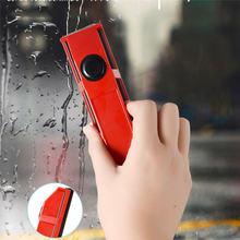 Essuie-glace ménager pour nettoyage de vitres   Nettoyeur magnétique à main, outils de nettoyage de vitres portables pour brosse de nettoyage de vitres Double face
