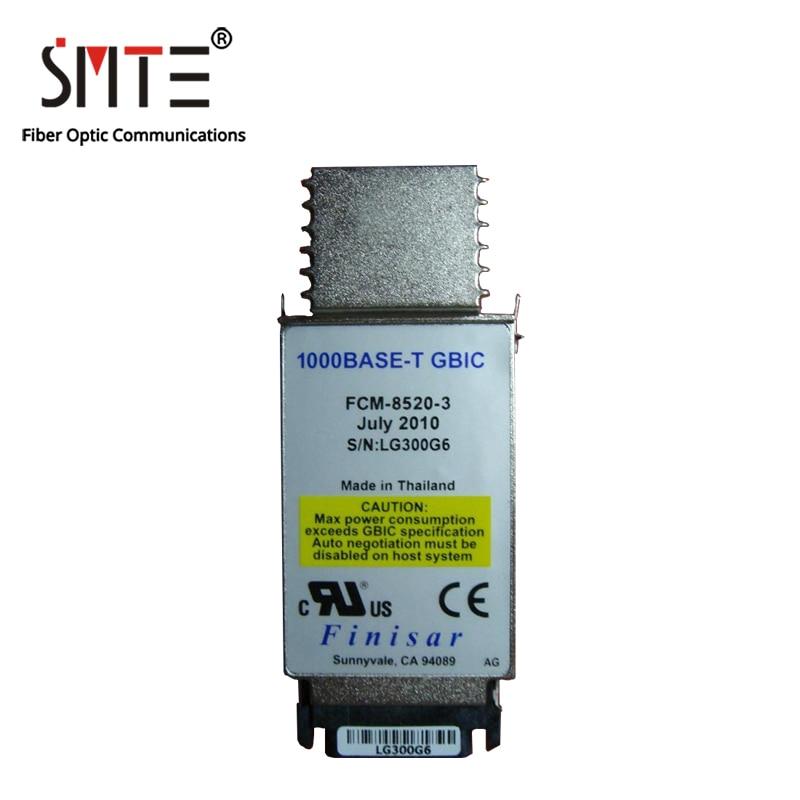 Finisar FCM-8520-3 1000BASE-T GBIC RJ45 الألياف الوحدات البصرية