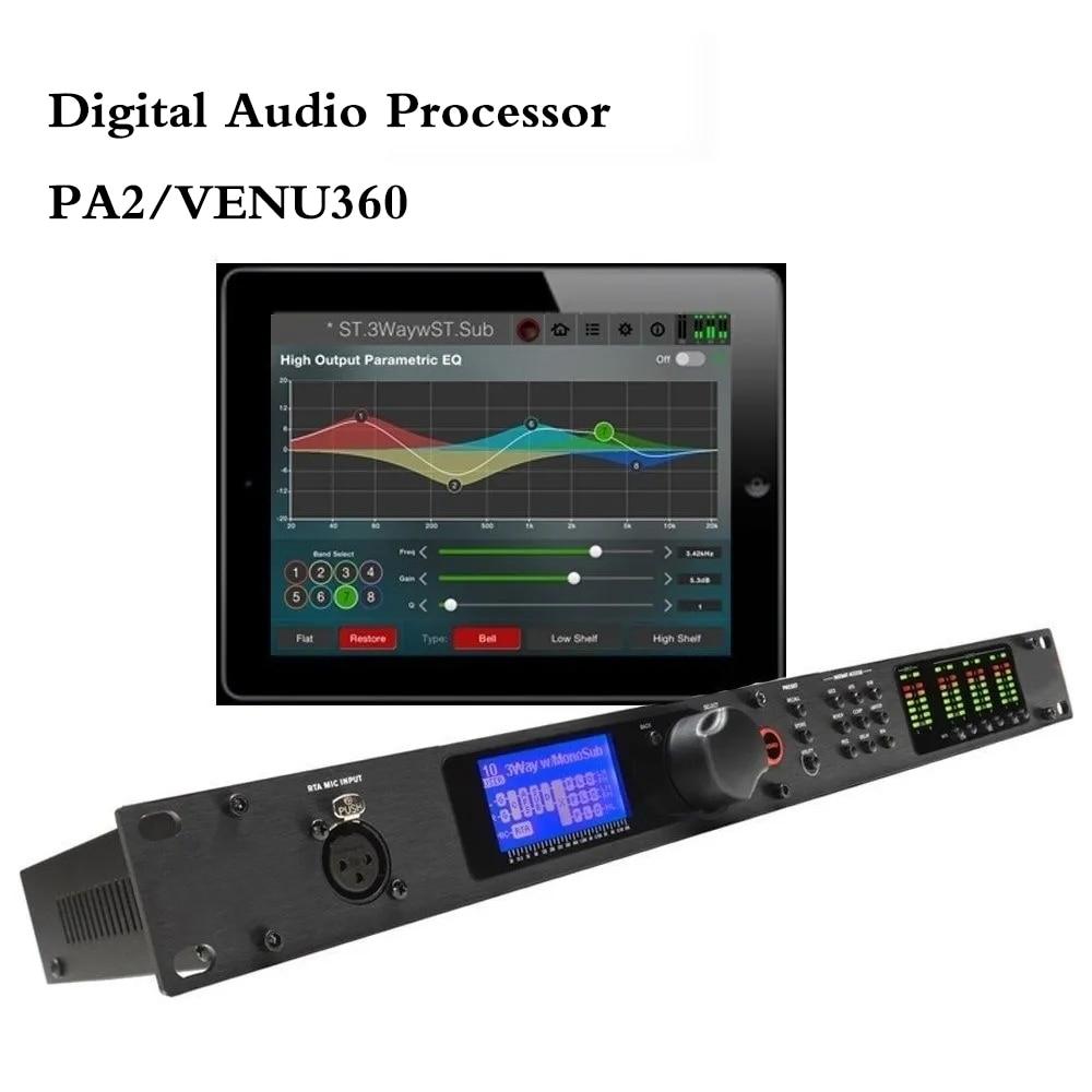PA2/VENU360 2 المدخلات 6 الناتج مرحلة معالج الصوت الأصلي البرمجيات برو سائق الصوت رف المهنية المتكلم الصوت المعالج