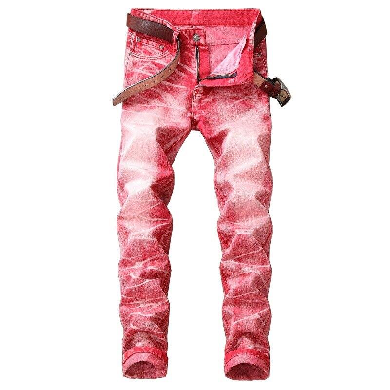 Pantalones Vaqueros de Color liso para Hombre, Jeans de moda de estilo...