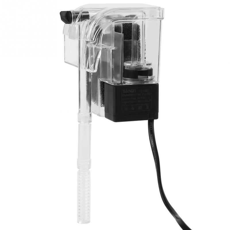 Aquarium External Filter Hanging Type External Oxygen Pump Water Filter for Aquarium Fish Tank External Filter 220V 50Hz