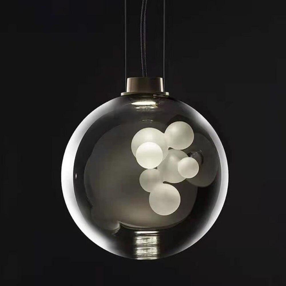Lámparas led decorativas, diseño danés, hogar nórdico, collar moderno