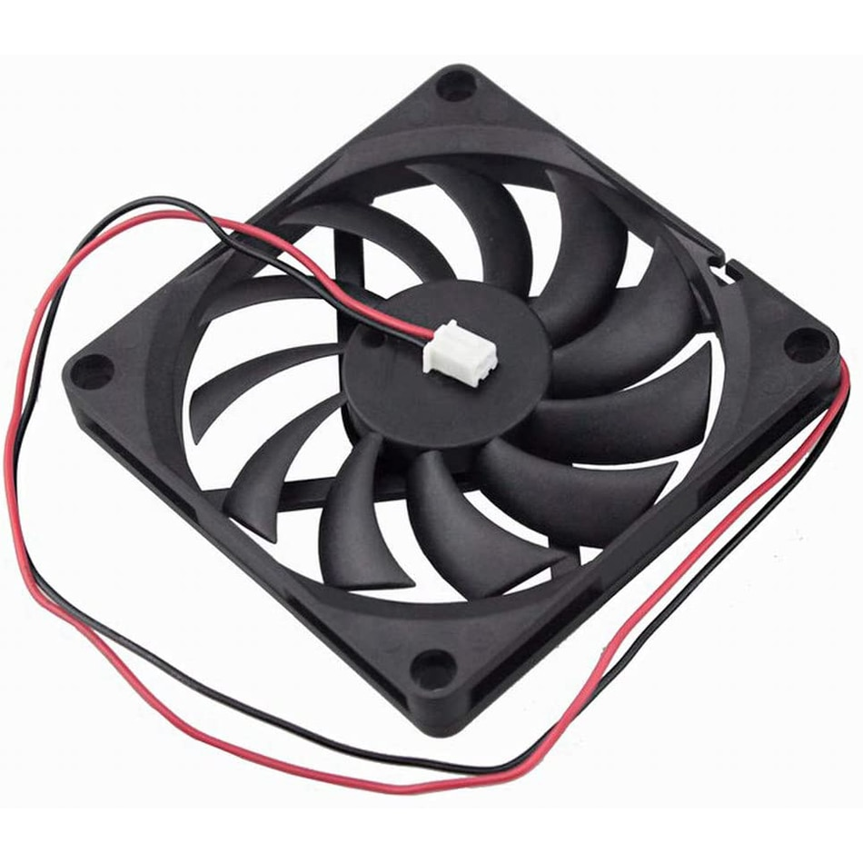 Brushless Cooling Fan 8010 Cooling Fan 5V 12V 24V 2 Pin 80x80x10mm Pc Computer CPU System Heatsink