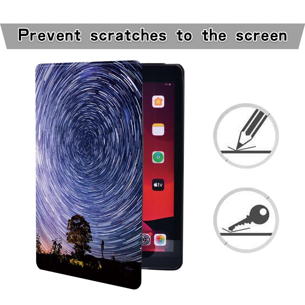 Tablets Case for Apple Ipad 8 2020 8th Generation 10.2 Inch Case Lightweight Stand Cover Case + Stylus enlarge