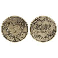 Сувенирная монета на удачу для мамы Посмотреть