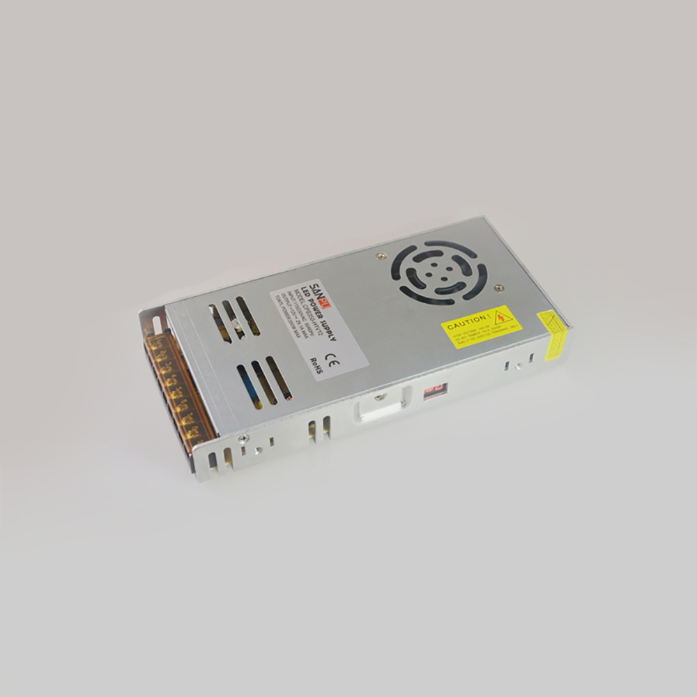 DC12V 350 واط LED امدادات الطاقة الجهد المستمر AC-DC 12 فولت الإضاءة محول سائق الألومنيوم لمصابيح LED داخلية