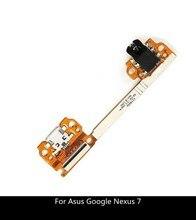 Nieuw Voor Asus Google Nexus 7 ME370T Dock Connector Flex Kabel Micro Usb Lader Poort Opladen Met Audio Headphone Jack