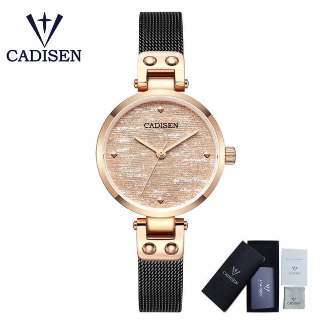 Relogio Feminino 2019 new watches for women ladies luxury brand watch fashion lady Quartz wristwatch sapphire gold crystal dial enlarge