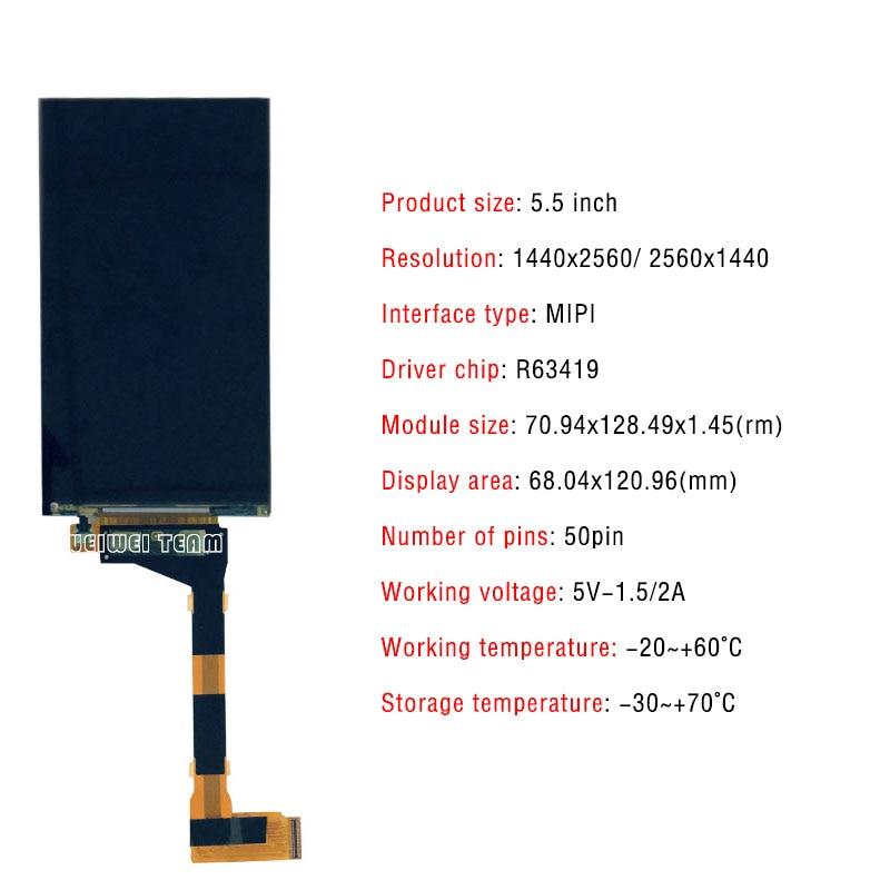 "120Hz LS029B3SX02 2.9/"" 1440*1440 2k Dual Square LCD Displays For DIY VR Headset"
