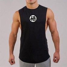 Sports Running T-shirt Men Gym Fitness Tops Tee Shirt Stringer Bodybuilding Singlets Muscle Vest T S